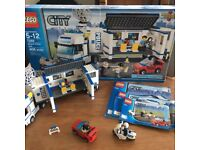 Lego City Police Lorry - Mobile unit 7288