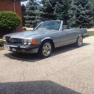 1982 Mercedes Benz 380 SL- Must Sell