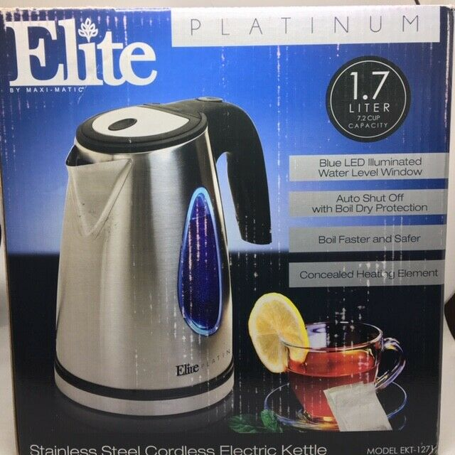 Elite Platinum Cordless Electric Kettle
