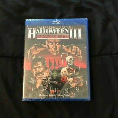 Scream Factory HALLOWEEN III Collectors Edition Blu Ray Tom Atkins horror