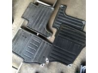 Range Rover Sport Rubber Mats, front and back with fastenings. Were in 2007 model, good condition