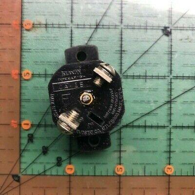 Klixon Aircraft Circuit Breaker Ca-15  Vintage 15a Nos