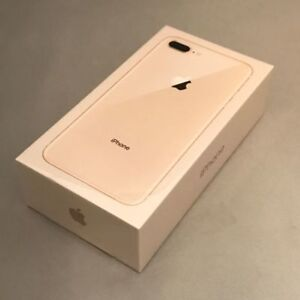 Brand New IPHONE 8 PLUS 64G Golden Rose