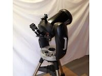 Celestron CPC800 GPS StarBright XLT Telescope with Starwave Red Dot finder