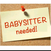 Immediate: Looking for a babysitter