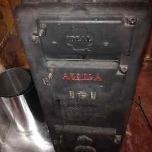 wood burning furnace radiant heat and rad's