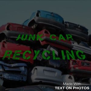 Unwanted junk car removal