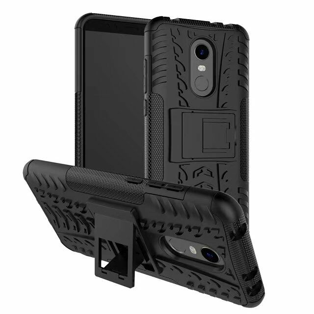 buy popular 74344 28e67 Details about Rugged Hybrid Armor Shockproof Hard Case Stand Cover For  Xiaomi Redmi 5 Plus