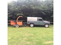 Chipper Hire & Operator In kent
