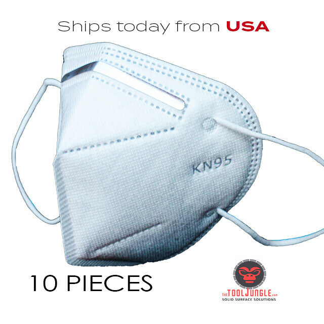 Best NEW 10 PACK KN95 FACE MASK COVER PROTECTION RESPIRATOR MASKS K-N95