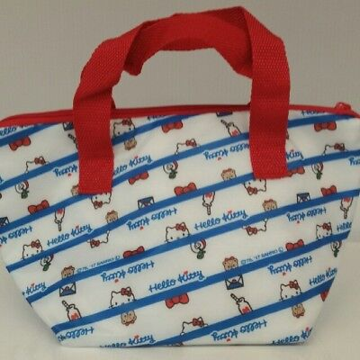 Sanrio Hello Kitty Red   Blue   White Thermo Thermal Insulated Lunch Bento Bag