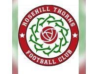 Rosehill Thorns Football Team - Looking for players