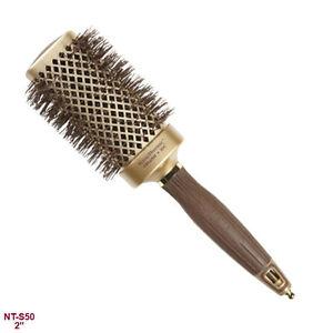 Olivia Garden Nanothermic Ceramic Ionic Thermal Square Hair Brush 2 Ebay