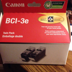 Canon BCI-3e black twin pack ink