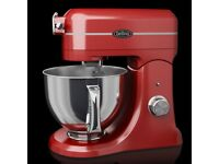 BELLING PROFESSIONAL RED DIE CAST STAND FOOD MIXER RRP £139.99