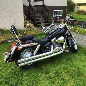 Beautiful Shadow Aero motorbike