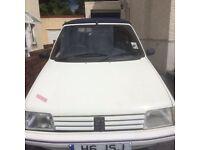 1990 Peugeot 205 CJ Cabriolet