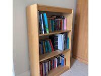 John Lewis Oak bookcase