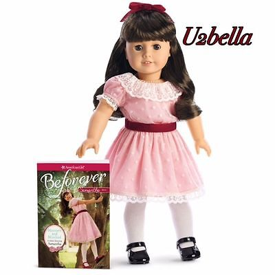 """American Girl BeForever Samantha Doll 18"""" w/book New in Box NO X"""