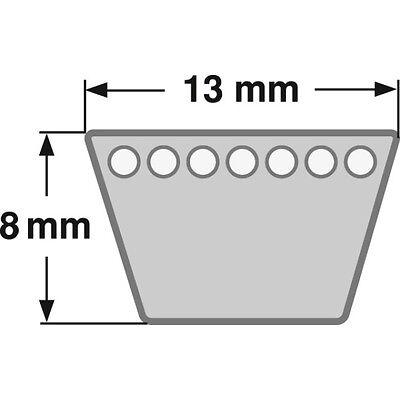 Klassischer Keilriemen Profil (A) 13 mm DIN 2215 von 381 mm bis 1300 mm
