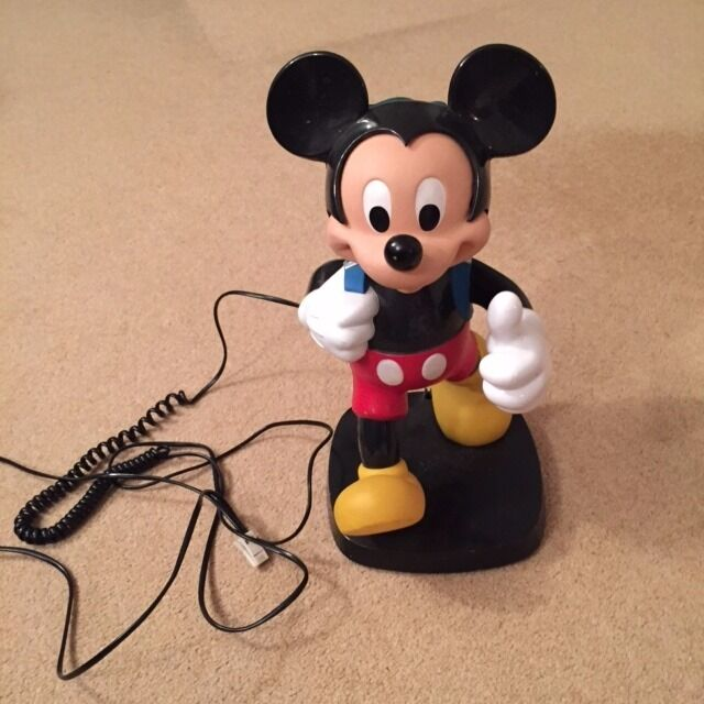 Mickey Mouse landline telephone