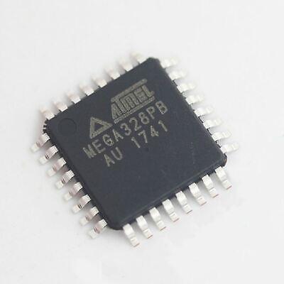 10pcs Atmega328pb-au Mega328pb-u Qfp32 New 8-bit Microcontroller Us Send