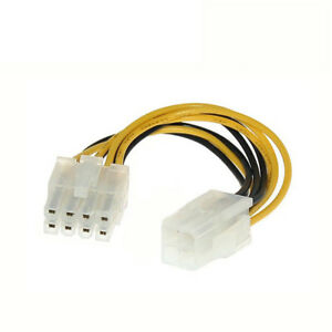 4 PIN TO 8 PIN CONNECTOR/ MOLEX TO 6 PIN