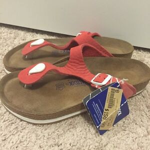 New Size 39 Birkenstocks