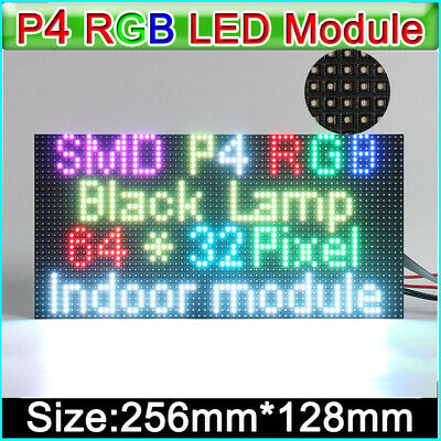 Rgb Led Matrix P4 Led Display Module Smd2121 Led Panel 1 16s 64 32 Dots