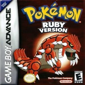 Pokemon Ruby Version for Game Boy Advanced