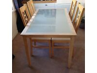 Table and chairs (set of 4)