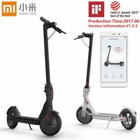 BRAND NEW Xiaomi M365 Folding Electric Scooter In Black Or White - Limited Stock