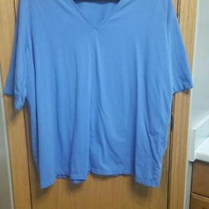 Jones of New York Blue T-shirt SZ 3x EUC