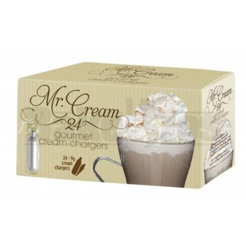 144 Mr. Cream Whip Cream Chargers for Fresh whipped cream
