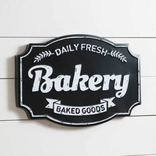 Daily Fresh Bakery Vintage Metal Wall Sign