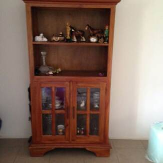 Solid Timber Display Cabinet Beenleigh Logan Area Preview