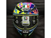 AGV Corsa Hands Limited Edition Valentino Rossi Misano 2014