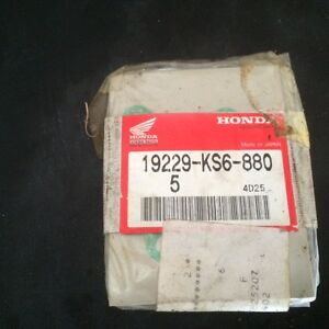 Honda CR125 water pump gasket NEW OEM 1987-1994