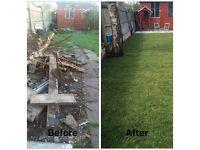 Slabbing/ Patios/ Rubbish Removal/ Garden Clean/ Garden Tidy and Garden Services