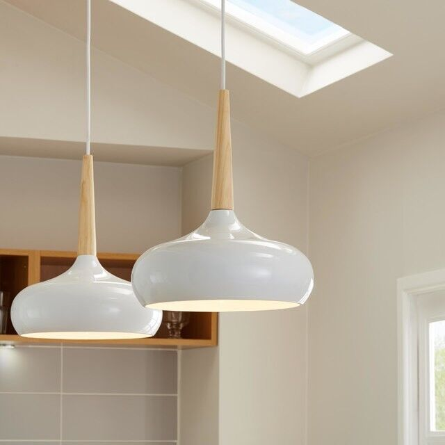 Tuara white gloss pendant ceiling light as sold in bq pair nss tuara white gloss pendant ceiling light as sold in bq pair mozeypictures Image collections