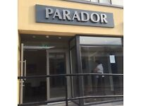 Part-Time Bar Person for the Parador Ormeau Road Belfast.