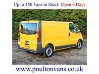 2013 (63) VAUXHALL VIVARO 2900 ECO FLEX SWB LOW ROOF PANEL VAN,115BHP, Medium