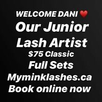 Classic Set of Lashes for $75.00