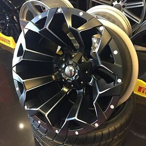 BRAND NEW! Fuel Assault Rims! 6x139.7/6x135 bolt pattern