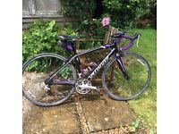 Specialized ladies/girls road Bike black & purple
