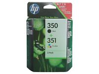 HP ink 350 + 351 - brand new