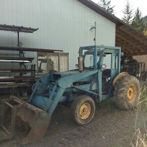 ford 3 cyclinder diesel tractor