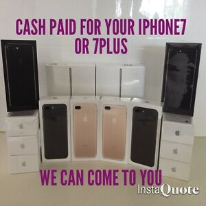 We pay up to $1000 Cash for all iPhone 7 & 7Plus. I can come to you Chadstone Monash Area Preview