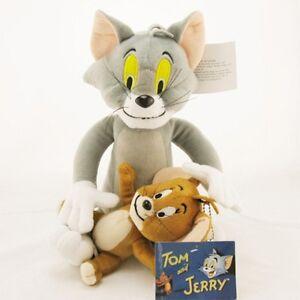 New Tom and Jerry Plush Doll Soft Cute Stuffed Cartoon Toy Anime
