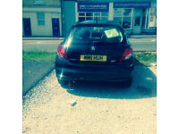 REDUCED £3,700 Peugeot 207 Active 2011 Black 12 months MOT only 34,200 miles Bluetooth Lady owner